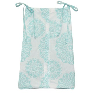 Cotton Tale Sweet and SImple Aqua/Blue Diaper Stacker