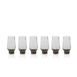 """Galiotto"" Shot Glass, Gold (Set of 6)"
