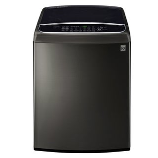 LG WT1901CK 5.0 cu. ft. Ultra Large Capacity Front Control Top Load Washer with TurboWash® in Black Stainless Steel
