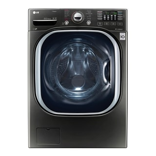 LG WM4370HKA 4.5 cu. ft. Ultra Large Capacity TurboWash® Washer w/ NFC Tag On in Black Stainless Steel
