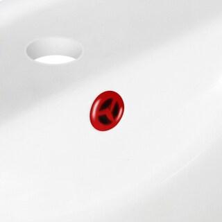 1.25-in. W Brass Overflow Cap In Red
