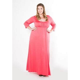 Sealed with a Kiss Women's Plus Size Lois Maxi Dress