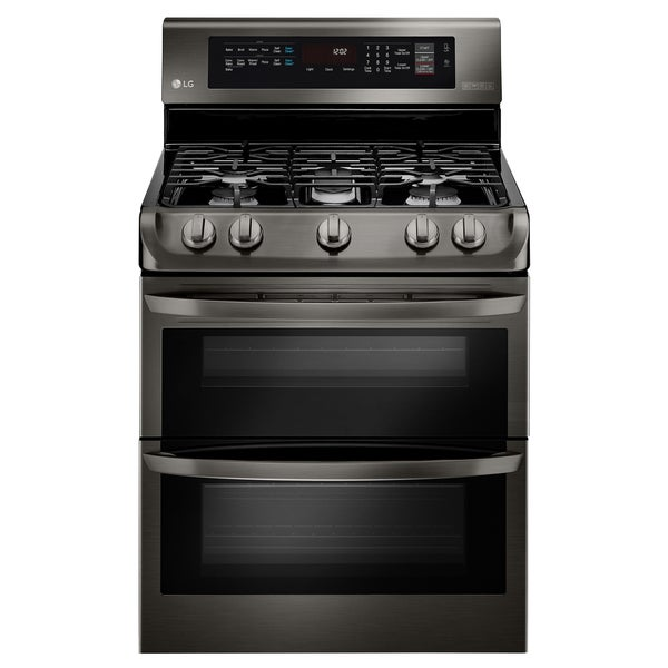 Gas Double Oven Range With Probake Convection