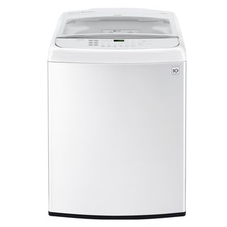 LG WT1901CW 5.0 cu. ft. Ultra Large Capacity Front Control Top Load Washer with TurboWash® in White