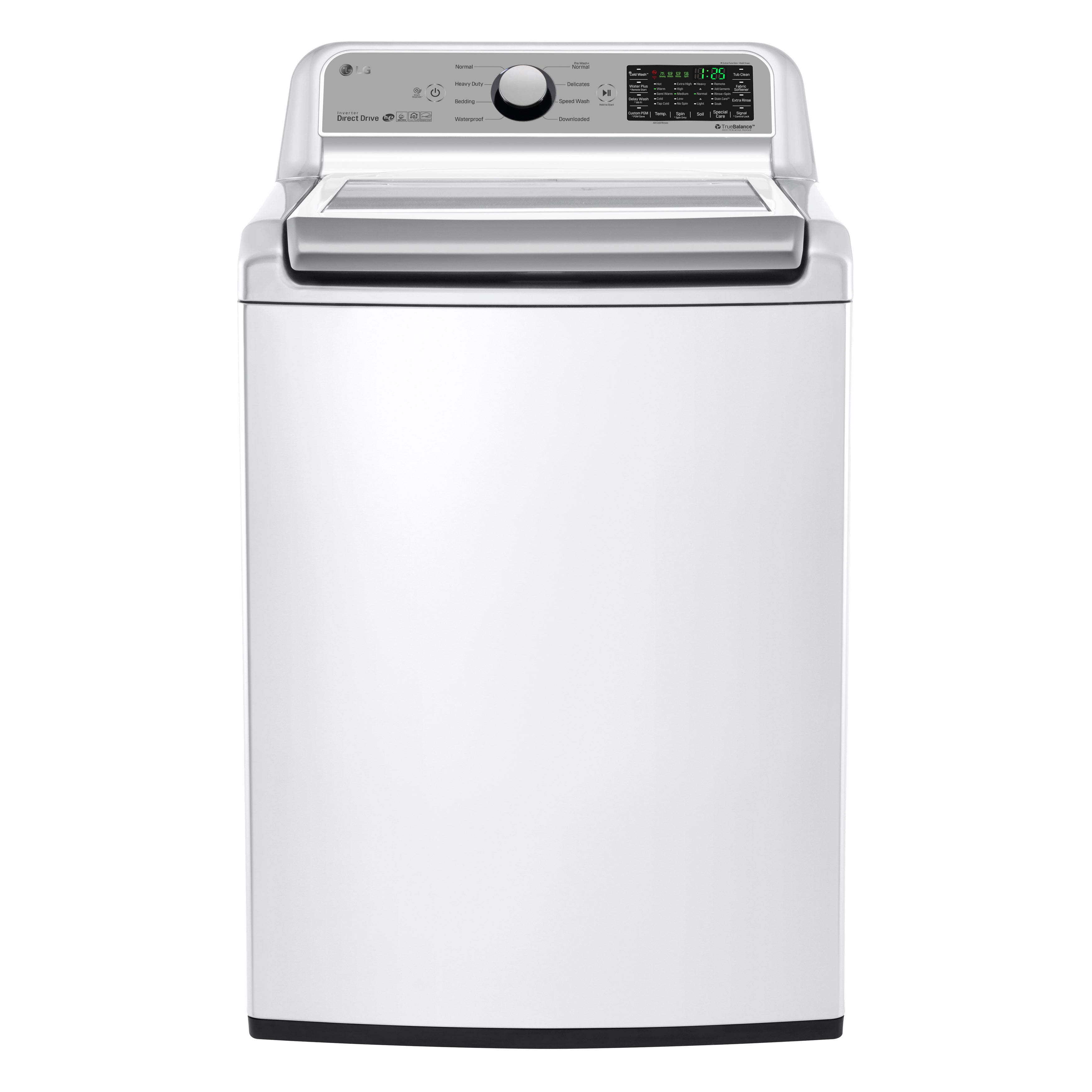 LG WT7200CW 5.0 cu.ft. Mega Capacity Top Load Washer in W...