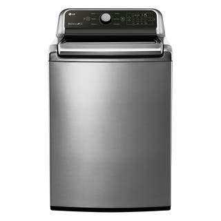 LG WT7050CV 4.5 cu.ft. Ultra Large Capacity Top Load Washer in Graphite Steel|https://ak1.ostkcdn.com/images/products/16687010/P23005857.jpg?impolicy=medium