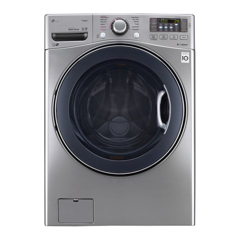 LG WM3770HVA 4.5 cu. ft. Ultra Large Capacity TurboWash Washer in Graphite Steel
