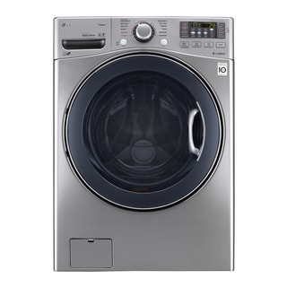 LG WM3770HVA 4.5 cu. ft. Ultra Large Capacity TurboWash™ Washer in Graphite Steel