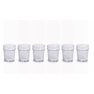 Garan Hammered Double Old Fashioned Glasses, Set of 6
