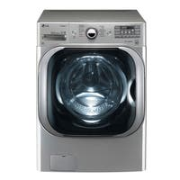 LG WM8100HVA 5.2 cu. ft. Mega Capacity TurboWash® Washer with Steam Technology in Graphite Steel