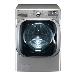 LG WM8100HVA 5.2 cu. ft. Mega Capacity TurboWash® Washer with Steam Technology in Graphite Steel