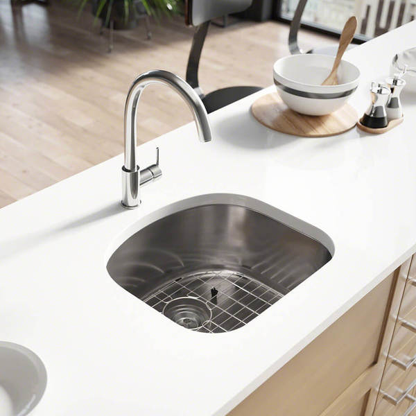 Shop R1 1017 D Bowl Stainless Steel Kitchen Sink With Cutting Board