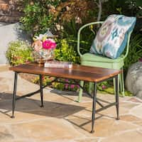 Christopher Knight Home Ocala Outdoor Acacia Wood Coffee Table