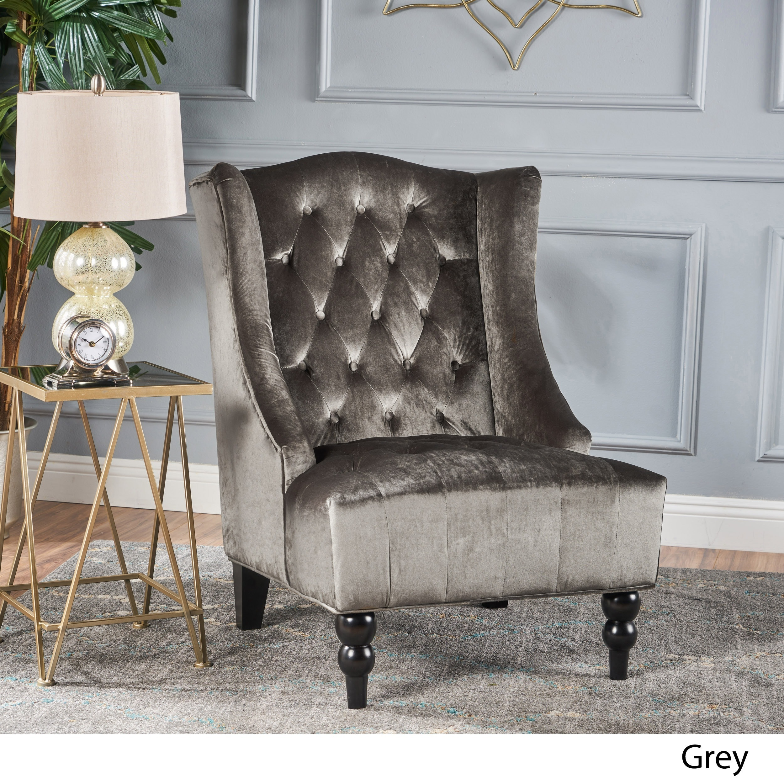 buy grey living room chairs online at overstock com our best