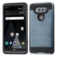 Insten Blue/ Black Hard Snap-on Dual Layer Hybrid Case Cover For LG V20