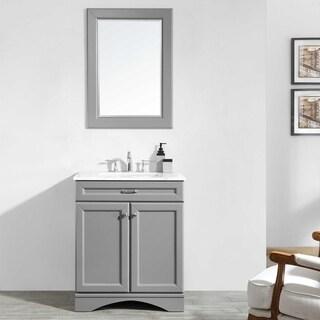 """Naples 30"""" Vanity in Grey"""