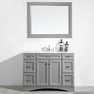 """Naples 48"""" Vanity in Grey"""