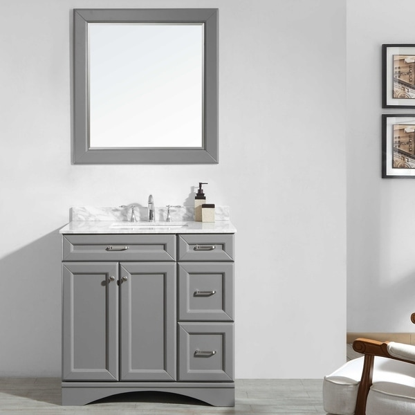 Naples Grey 36-inch Vanity