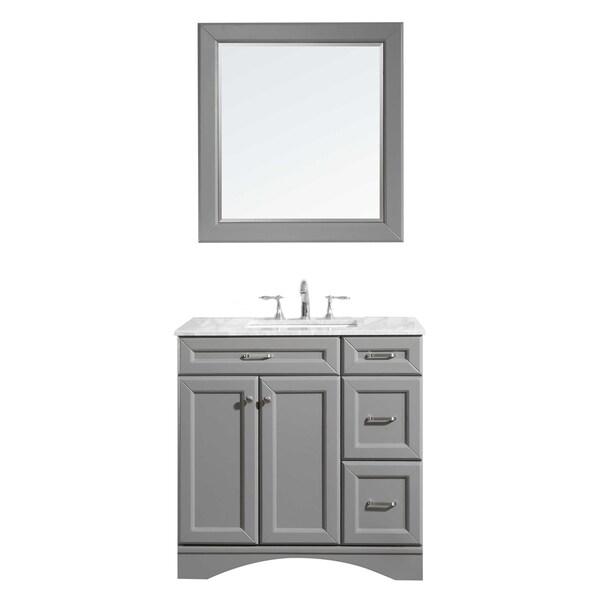 """Naples 36"""" Vanity in Grey"""