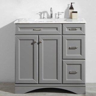 Naples Grey 36-inch Vanity without Mirror