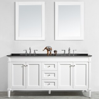 "Catania 72"" Double Vanity in White"