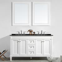 "Catania 60"" Double Vanity in White"