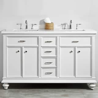 51 60 Inches Bathroom Vanities Amp Vanity Cabinets For Less