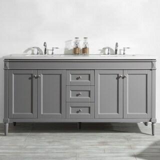 Catania Grey 72-inch Double Vanity