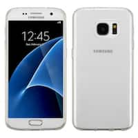 Insten White TPU Rubber Candy Skin Case Cover For Samsung Galaxy S7
