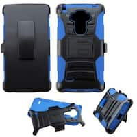 Insten Hard PC/ Silicone Dual Layer Hybrid Case Cover with Holster For LG G Stylo LS770/ G Vista 2