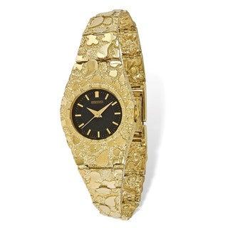 10 Karat Black 22mm Dial Nugget Watch
