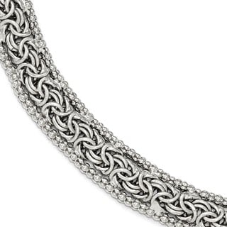 Sterling Silver Polished Bracelet