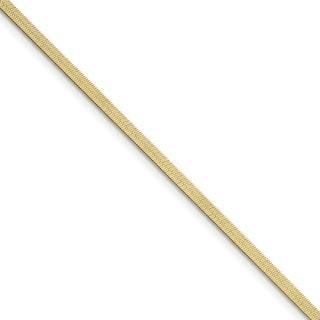 Versil 10 Karat 3 0mm Silky Herringbone Chain