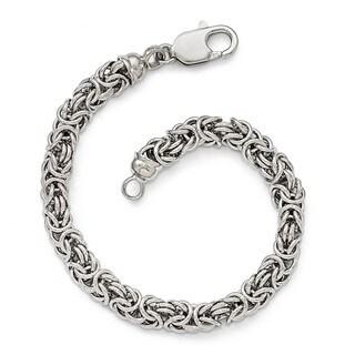 Sterling Silver Polished Link Bracelet