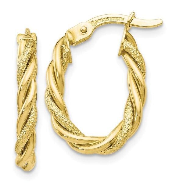 Versil 10 Karat Gold Earrings