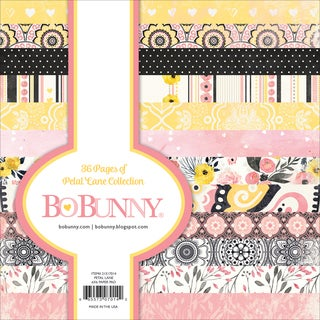 "BoBunny Single-Sided Paper Pad 6""X6"" 36/Pkg-Petal Lane, 12 Designs/3 Each"