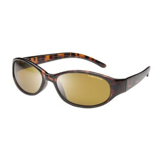Eagle Eyes Women's Tuscan Tortoise Brown Plastic Sunglasses