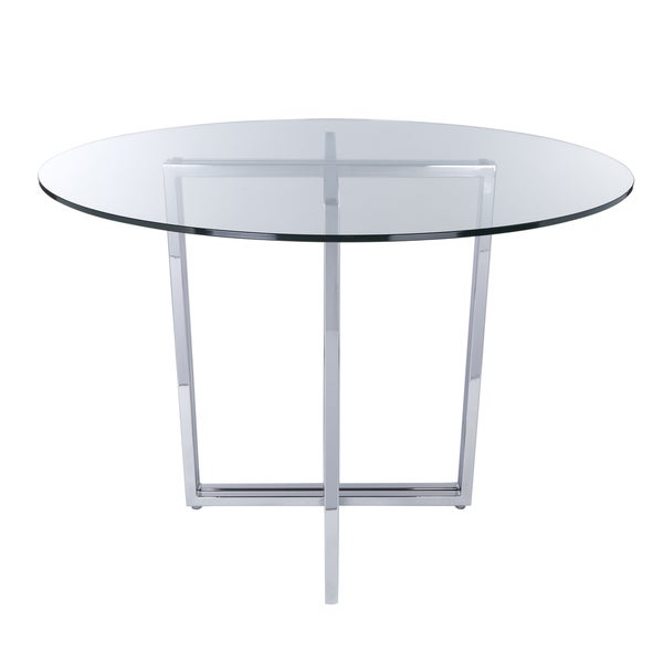 Shop Legend Dining Table Base Silver Free Shipping