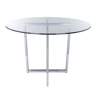 Legend Dining Table Base - Silver
