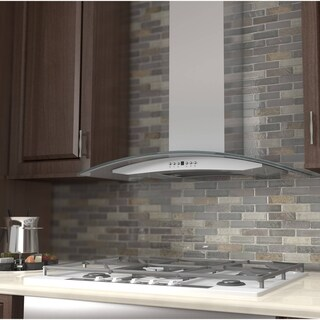 Zline 30 In 400 Cfm Wall Mount Range Hood Stainless Steel Gl