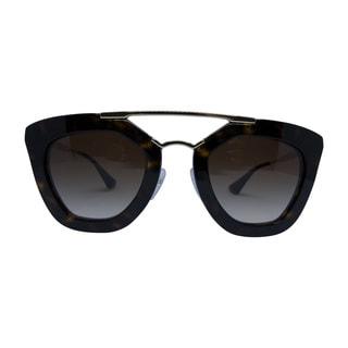 Prada Cinema SPR 09Q 2AU-6S1 Women's Havana Frame Brown lenses sunglasses