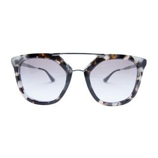 Prada SPR 13Q UAO-1LO Women's Spotted Opal Frame Light Brown Gradient Lenses Sunglasses