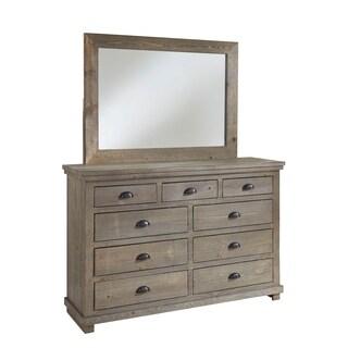 Willow Drawer Dresser & Mirror