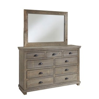 Willow Drawer Dresser & Mirror