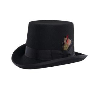 Ferrecci Pilgrim Victorian Black Top Hat
