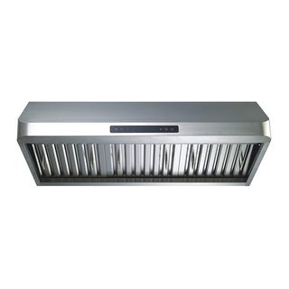 """Winflo O-W112B30D 30"""" Ducted Stainless Steel Under Cabinet 600 CFM Air Flow Range Hood"""