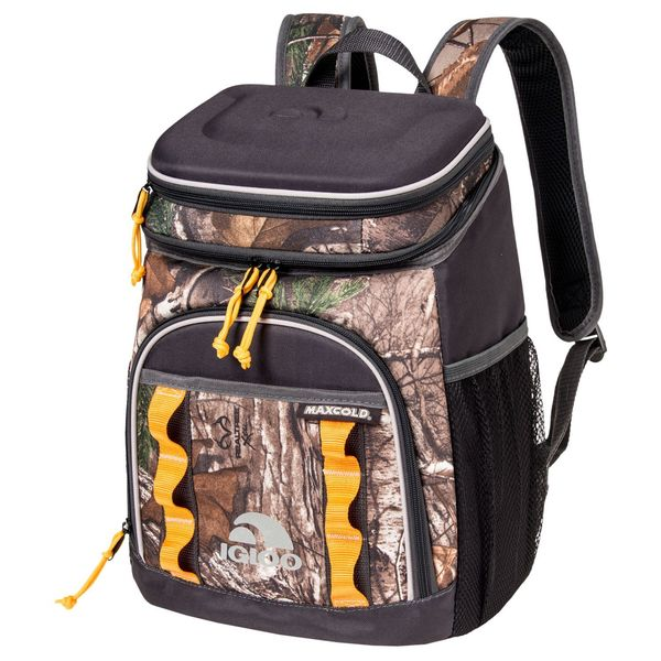 Igloo Realtree Camouflage Macula-insulated Hard-top Backpack