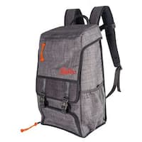 Igloo Day Tripper Grey Backpack with Packins