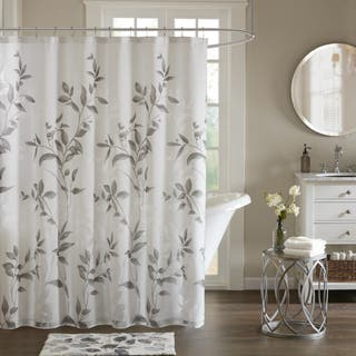 Black And Cream Shower Curtain. The Gray Barn Mission Creek Grey Printed Shower Curtain Curtains For Less  Overstock com Vibrant Fabric Bath