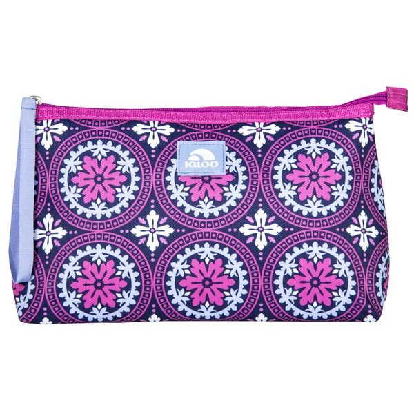Igloo Lunch Clutch Road to Marrakech Purple/Pink